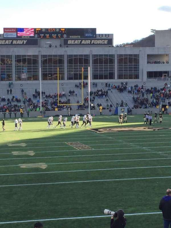 Michie Stadium, section: 24, row: O, seat: 10