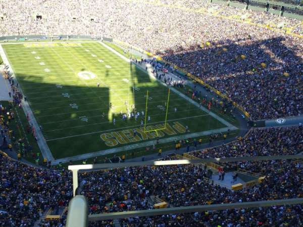 Lambeau Field, section: 744s, row: 11, seat: 10