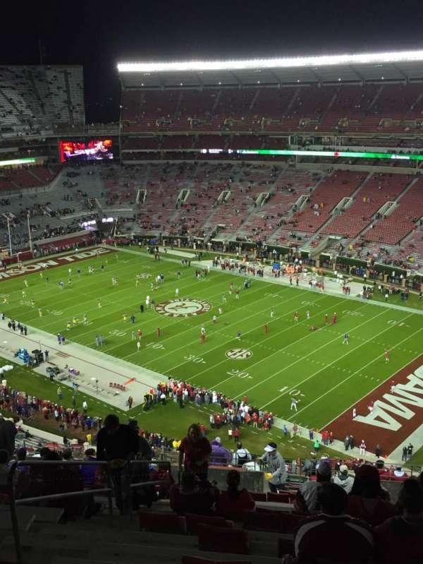Bryant-Denny Stadium, section: U4-QQ, row: 27