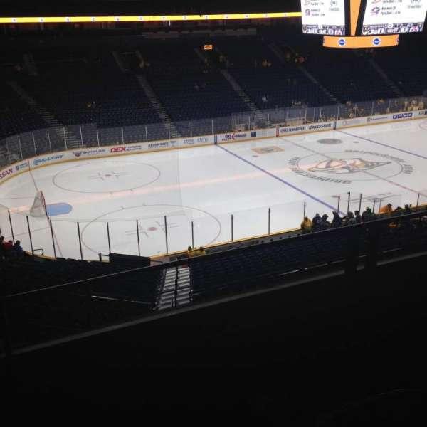 Bridgestone Arena, section: 213, row: E, seat: 16