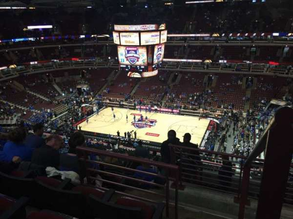 United Center, section: 316, row: 11, seat: 2