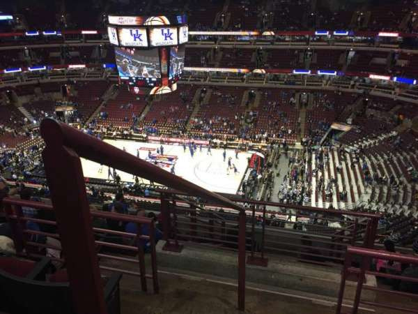 United Center, section: 316, row: 11, seat: 1