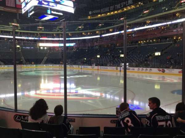 Nationwide Arena, section: 122, row: E, seat: 16