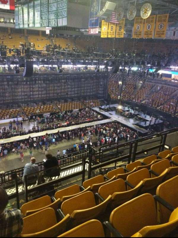 td garden section bal 303 row 10 seat 13 - Td Garden Seating