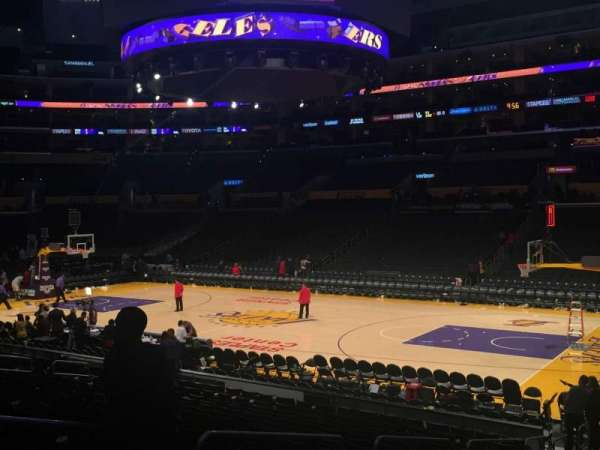 Staples Center, section: 118, row: 18, seat: 12