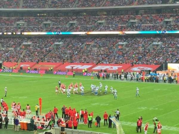 Wembley Stadium, section: 141