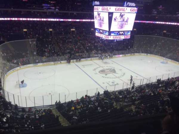 Nationwide Arena, section: 219, row: B, seat: 14