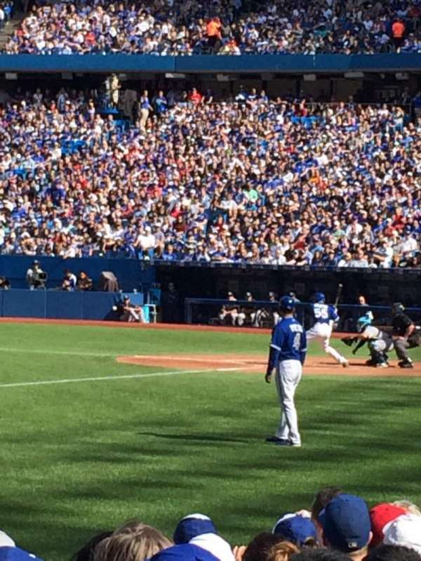 Rogers Centre, section: 129R, row: 6, seat: 7
