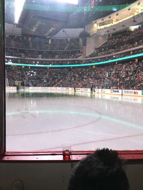 Xcel Energy Center, section: 111, row: 2, seat: 3