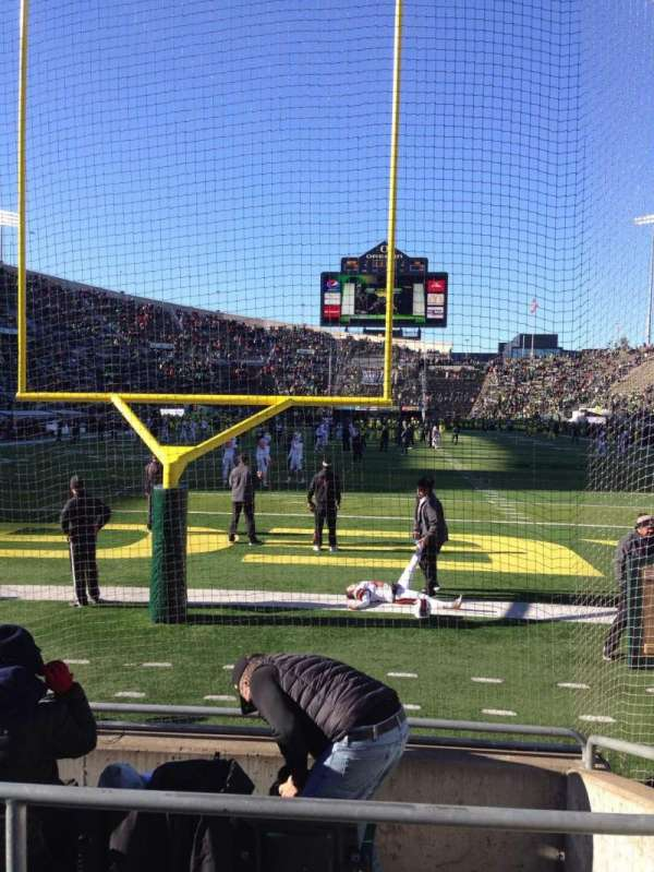 Autzen Stadium, section: 21, row: 5, seat: 9
