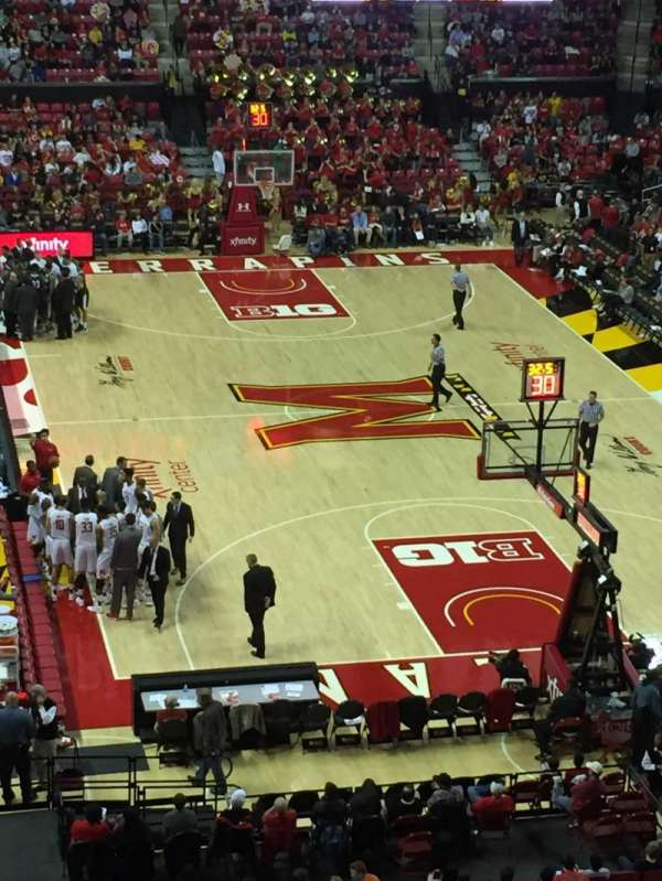 Xfinity Center (Maryland), section: 207, row: 4, seat: 21