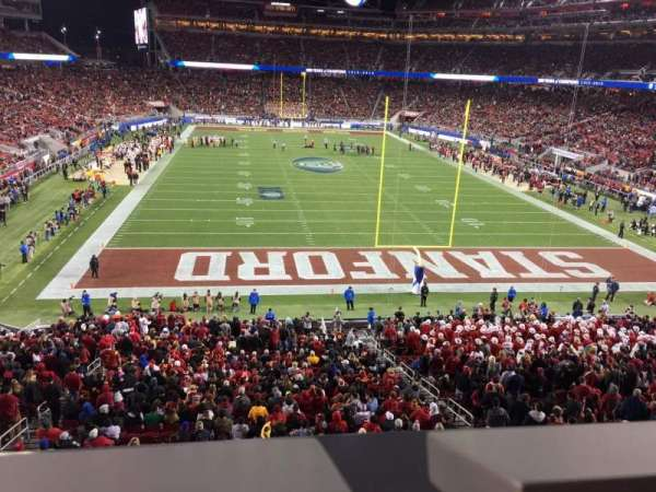 Levi's Stadium, section: 230, row: 1, seat: 10