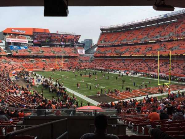 FirstEnergy Stadium, section: 144, row: 36, seat: 1