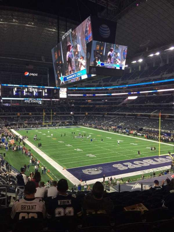 AT&T Stadium, section: 201, row: 11, seat: 24