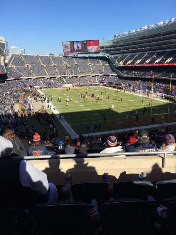 Soldier Field, section: 325, row: 4, seat: 9