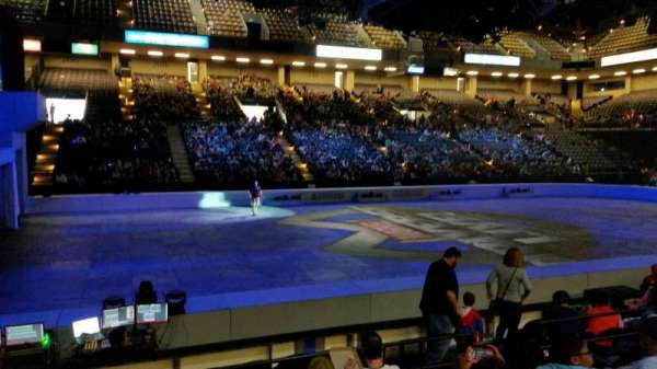 Royal Farms Arena, section: 105, row: F, seat: 7