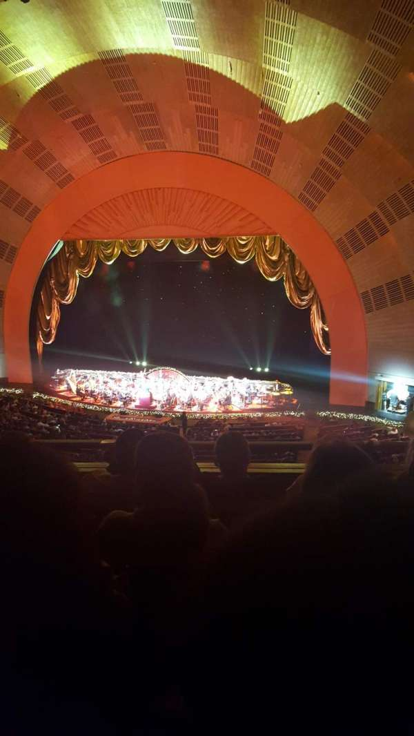 Radio City Music Hall, section: 2nd mezzanine 2, row: D, seat: 206