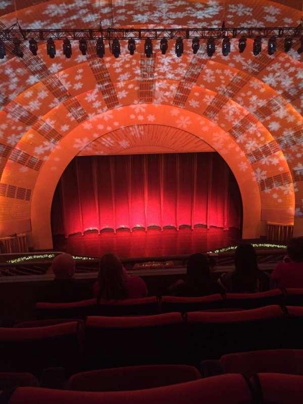 Radio City Music Hall, section: 3rd mezzanine 4, row: D, seat: 413