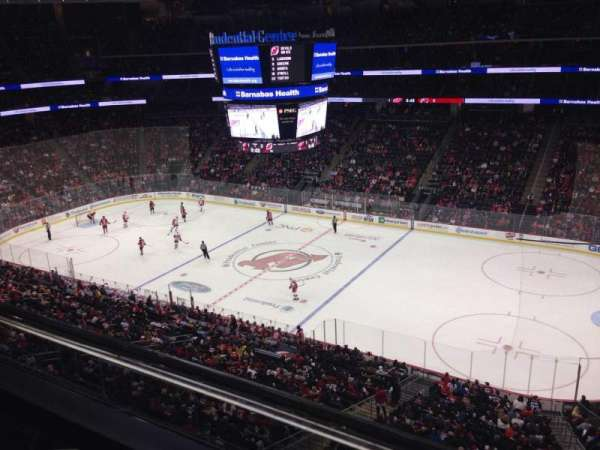 Prudential Center, section: 114, row: 1, seat: 9