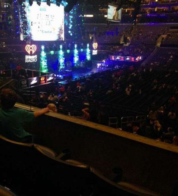 Staples Center, section: pr14, row: 3, seat: 10