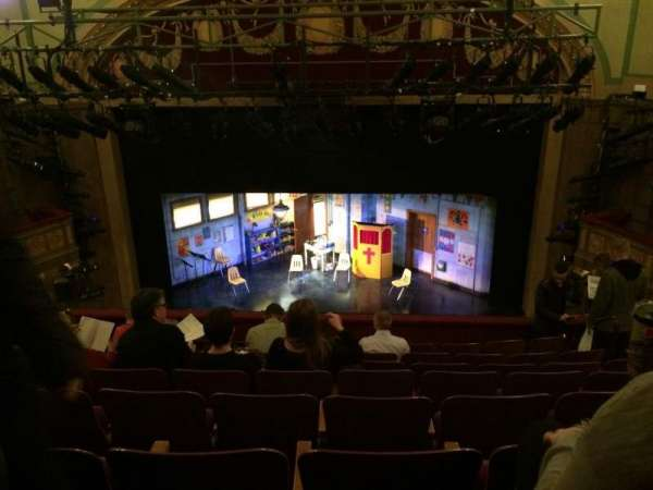 Booth Theatre, section: Mezzanine C, row: H, seat: 110