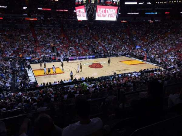 American Airlines Arena, section: 120, row: 27, seat: 7