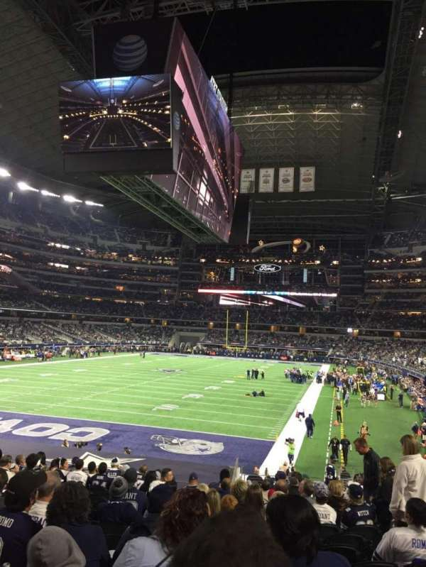 AT&T Stadium, section: 121, row: 21, seat: 6