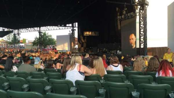KeyBank Pavilion, section: 4, row: N, seat: 4
