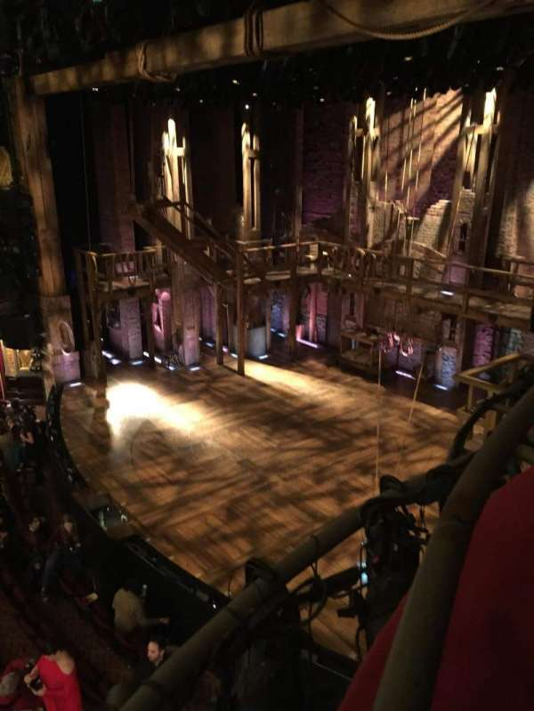Richard Rodgers Theatre, section: Box H, row: 1, seat: 3