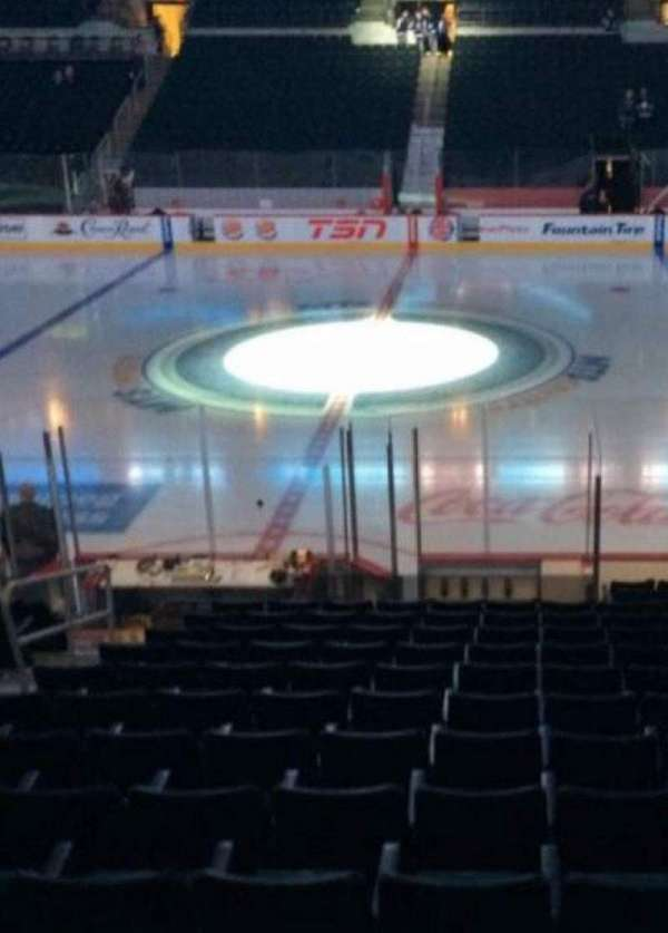 Bell MTS Place, section: 105, row: 12, seat: 11