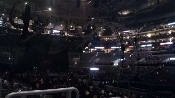 Staples Center, section: 108, row: 7, seat: 19