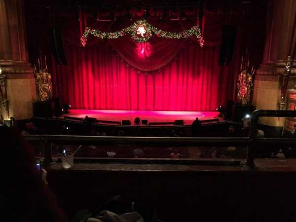 Beacon Theatre, section: Loge Center, row: B, seat: 111-112