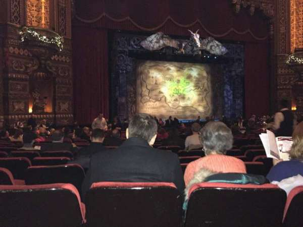 The Fabulous Fox Theatre (St. Louis), section: Orchestra 2, row: W, seat: 15