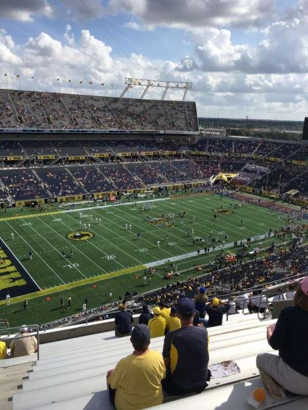 Camping World Stadium, section: 239, row: R, seat: 18