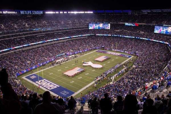 MetLife Stadium, section: 320, row: 25, seat: 39