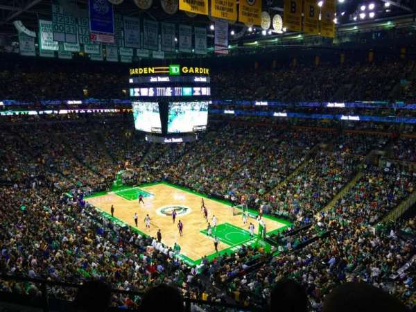 TD Garden, section: BAL 327, row: 3, seat: 1
