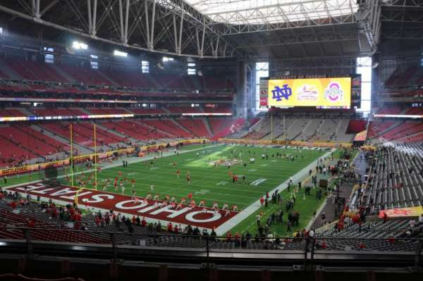State Farm Stadium, section: 455, row: A, seat: 9