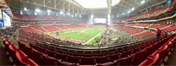 University of Phoenix Stadium, section: 202, row: 5, seat: 12