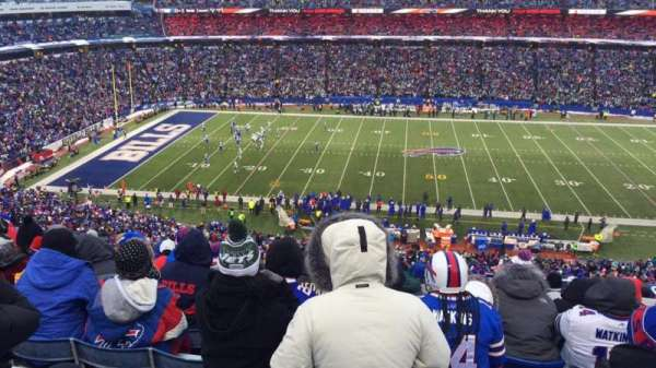New Era Field, section: 334, row: 19, seat: 9