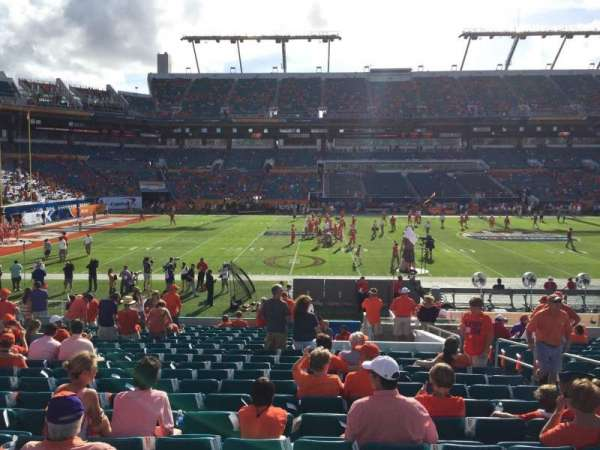 Hard Rock Stadium, section: 120, row: 29, seat: 7