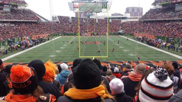 PAUL BROWN STADIUM, section: 126, row: 31, seat: 13,14,15