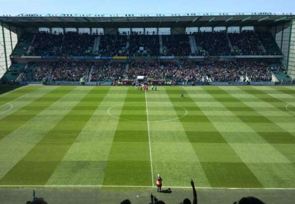 Easter Road Stadium, section: East 41, row: CC, seat: 117
