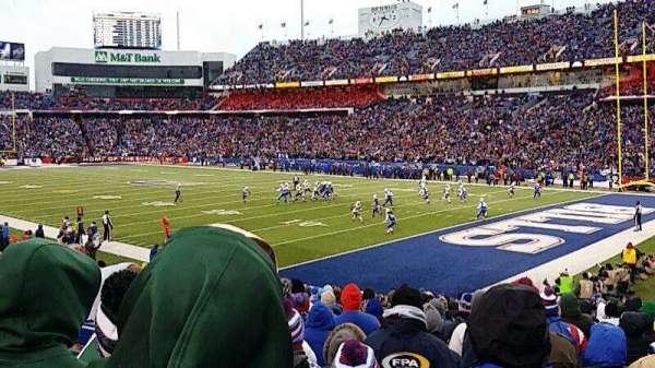 Highmark Stadium, section: 106, row: 22, seat: 3