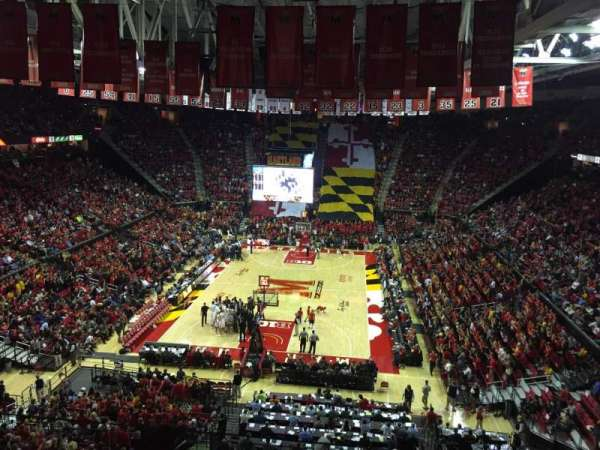 Xfinity Center (Maryland), section: 208, row: 5, seat: 10