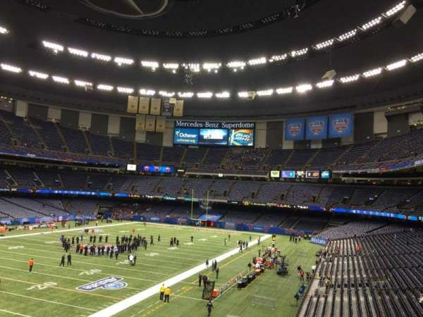Mercedes-Benz Superdome, section: 319, row: 9, seat: 12