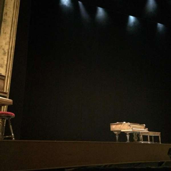 Palace Theatre (Broadway), section: Orchestra, row: C, seat: 121