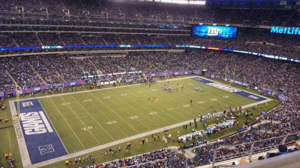 MetLife Stadium, section: 343, row: 5