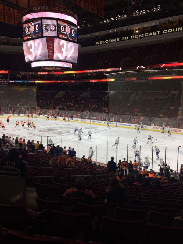Wells Fargo Center, section: 104, row: 23, seat: 5