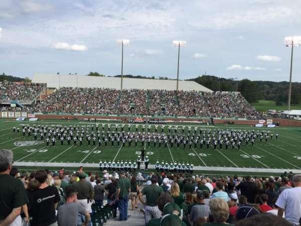 Peden Stadium, section: 104, row: 31, seat: 27