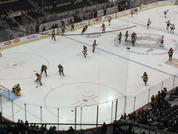 PPG Paints Arena, section: 224, row: C, seat: 15